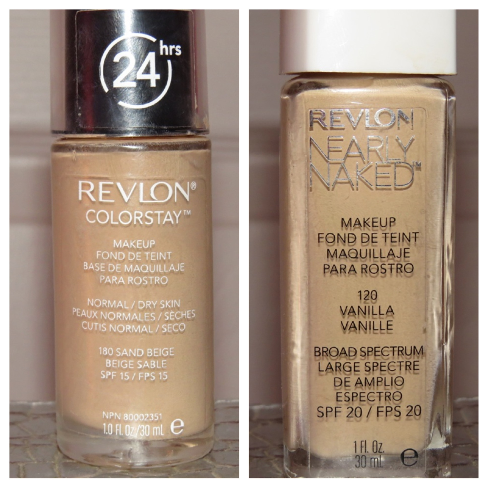 Revlon colorstay 24 hour foundation color chart revlon health revlon colorstay foundation review thedaintydaisies hd image of nearly naked thedaintydaisies nvjuhfo Choice Image