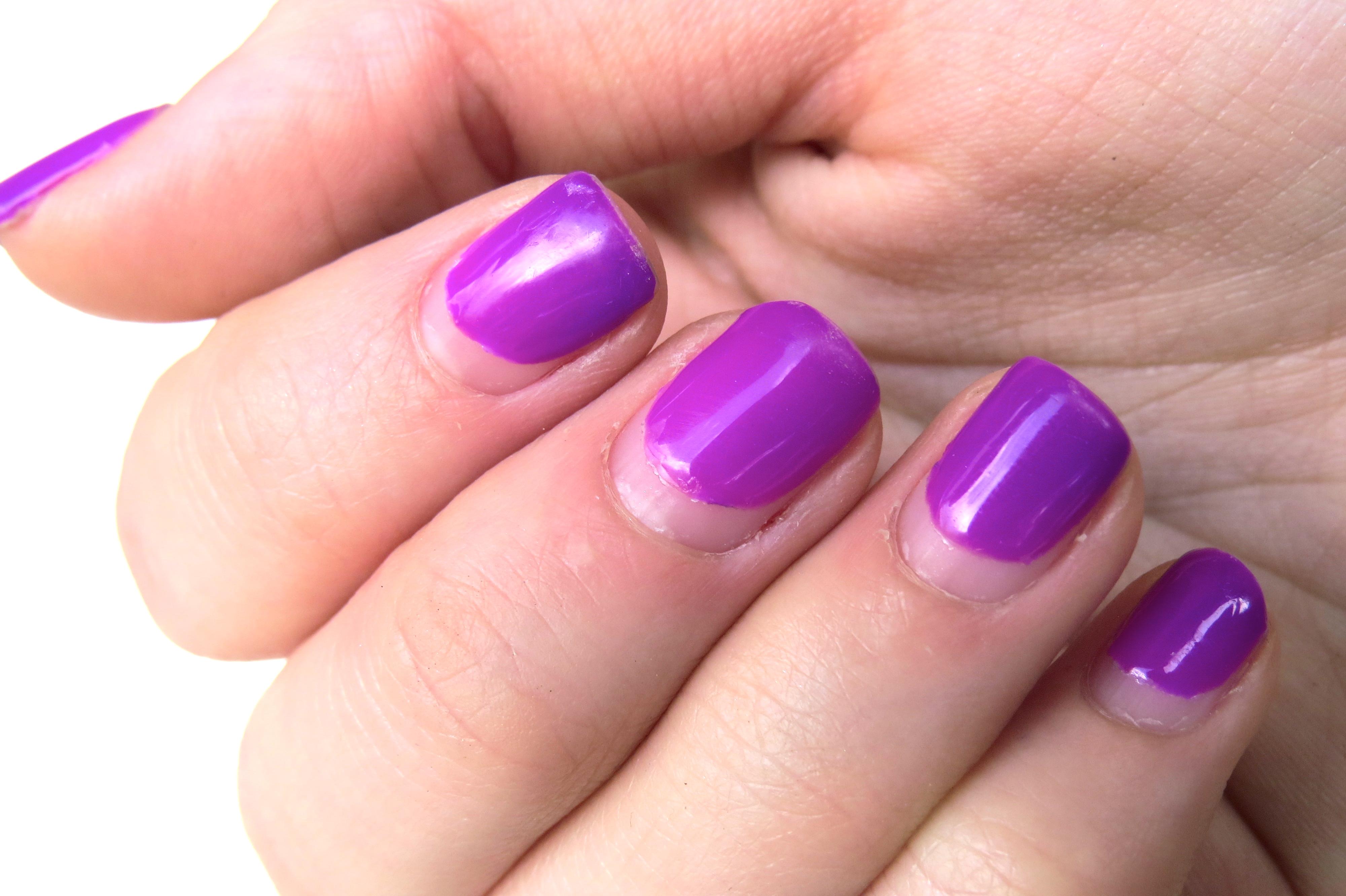 gel nail | thedaintydaisies